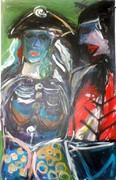Acryl auf Leinwand, 115x75 cm