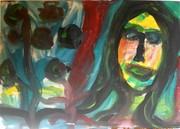 Acryl auf Leinwand, 48x70 cm