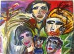 Family, Mensch Porträt, Hegner Pauer Art