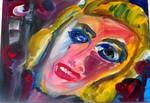 Marilyn, Porträt, 2012 Bild